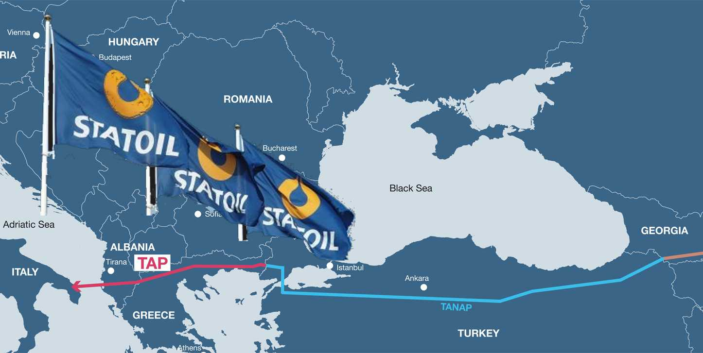 Statoil to leave TAP gas pipeline project - Azerbaijan's SOCAR