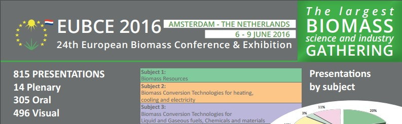 24th EUBCE in Amsterdam, The Netherlands 2016