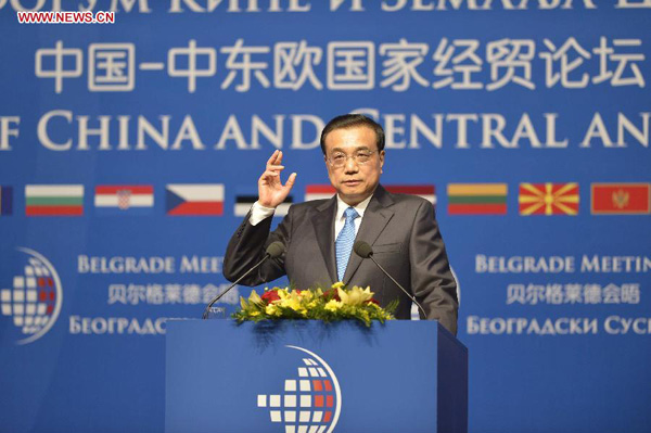 China to host China-CEE leaders' meeting for first time