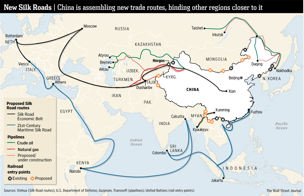 China's 'Belt and Road' Reaches Europe