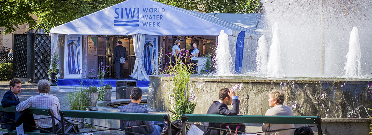World Water Week in Stockholm