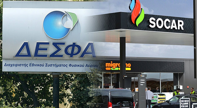 Socar is running into problems concerning Desfa